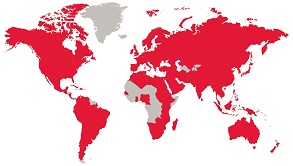IELTS World Map